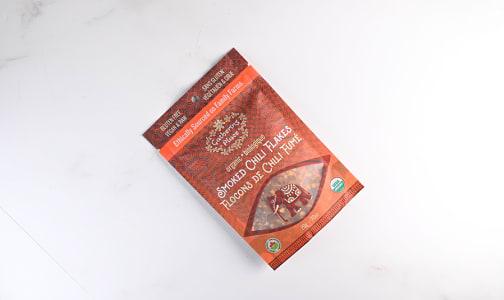Organic Chili Flakes, Smoked- Code#: SA1136