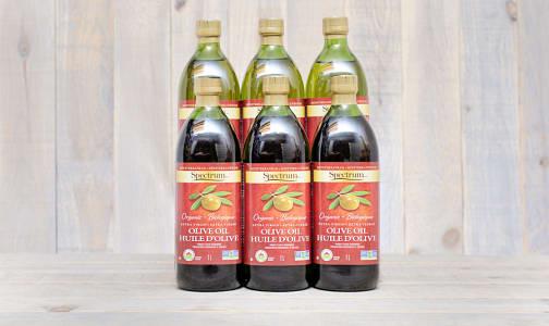 Organic Extra Virgin Mediterranean Olive Oil - CASE- Code#: SA117-CS
