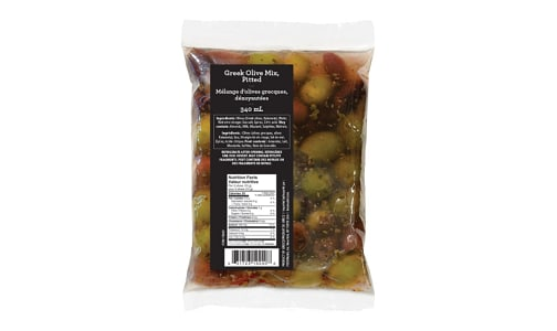 Greek Olive Mix Pouch- Code#: SA1172