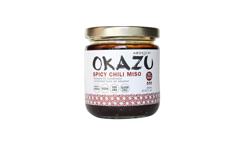 Okazu Spicy Chili Miso Oil- Code#: SA1209