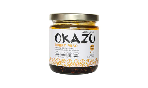 Okazu Curry Miso Oil- Code#: SA1210