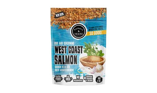 West Coast Salmon Rub- Code#: SA1331