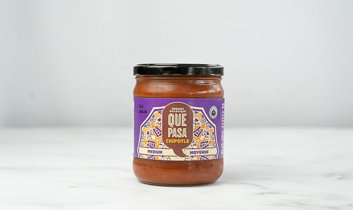 Organic Salsa Mexicana, Chipotle- Code#: SA194