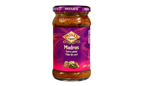 Madras Curry Paste- Code#: SA2104