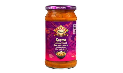 Korma Sauce- Code#: SA2108