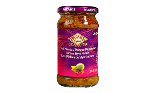 Indian Style Pickle - Hot Mango- Code#: SA2118