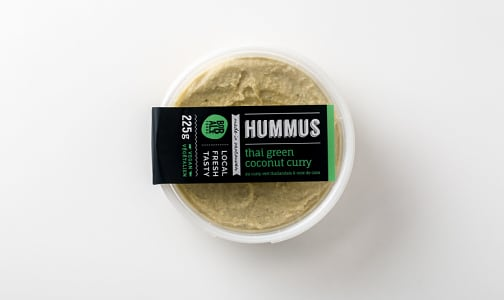 Thai Green Coconut Curry Hummus- Code#: SA2303