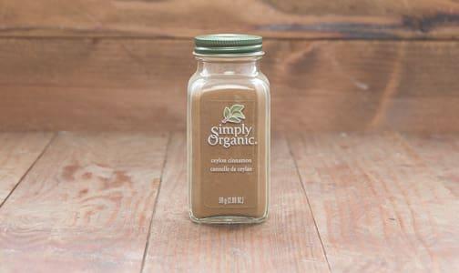 Organic Ceylon Cinnamon- Code#: SA251