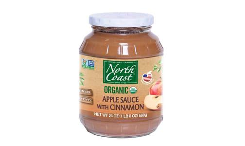 Organic Apple Sauce with Cinnamon- Code#: SA3018