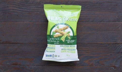 Organic Garden Herb - Pea Snack- Code#: SA3112