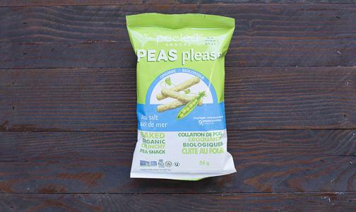 Organic Sea Salt - Pea Snack- Code#: SA3113