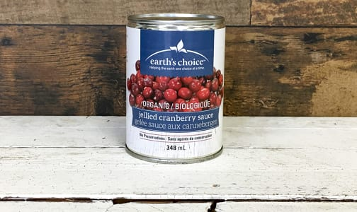 Organic Jellied Cranberry Sauce- Code#: SA3135