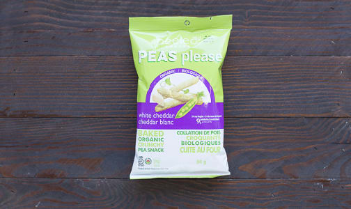 Organic White Cheddar - Pea Snack- Code#: SA3144