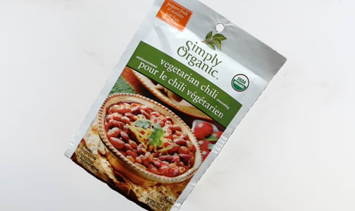 Organic Veggie Chili Seasoning Mix- Code#: SA3260