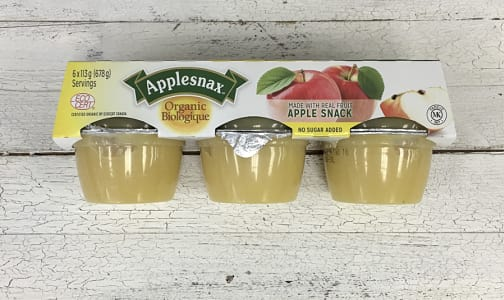 Organic Apple Sauce Cups- Code#: SA3500