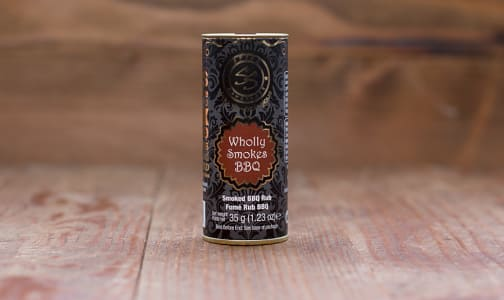 Organic Wholly Smokes BBQ Rub- Code#: SA4219