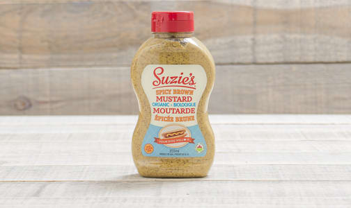 Organic Spicy Brown Mustard- Code#: SA480