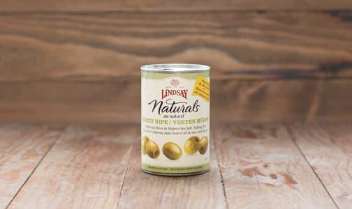 Medium Green Pitted Olives- Code#: SA621