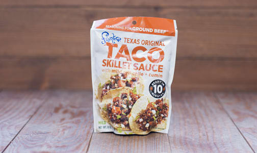 Taco Skillet Sauce, Texas Original- Code#: SA716