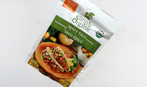 Organic Spicy Taco Seasoning Mix- Code#: SA7208