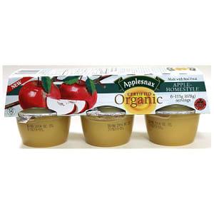 Organic Homestyle Applesauce Cups- Code#: SA7212