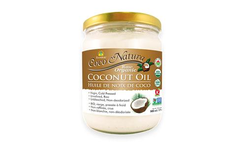 Organic Coco Natura - Raw Coconut Oil- Code#: SA7251