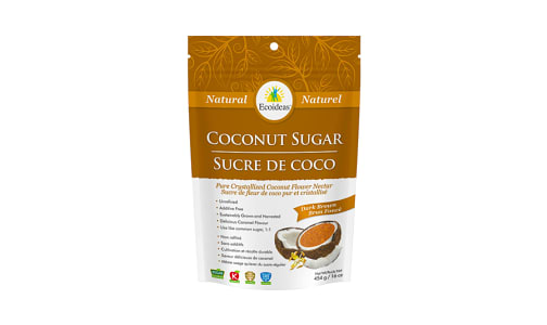 Organic Coconut Sugar - Dark Brown- Code#: SA7253