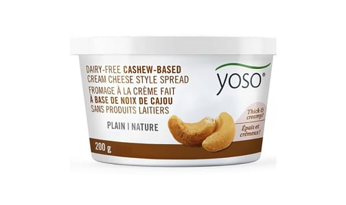 Cashew Based Cream Cheese Spread Plain- Code#: SA7256