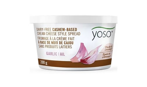 Cashew Based Cream Cheese Spread Garlic- Code#: SA7257