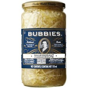 Traditional Raw SauerKraut- Code#: SA8002