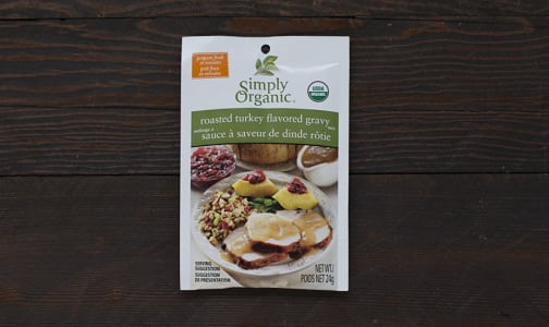 Organic Roasted Turkey Gravy Mix- Code#: SA901