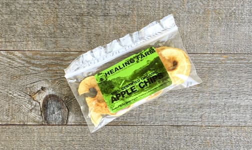 Organic Dried Apple Chips- Code#: SN0062