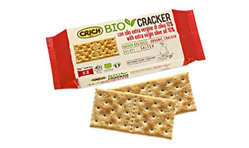 Organic Organic Crackers Salted with Extra Virgin Olive Oil- Code#: SN0201