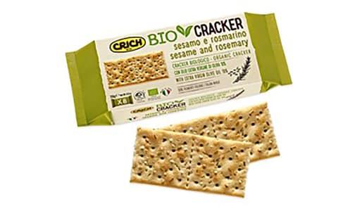 Organic Organic Crackers w/ Sesame & Rosemary- Code#: SN0203
