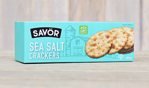 Sea Salt Crackers- Code#: SN0214