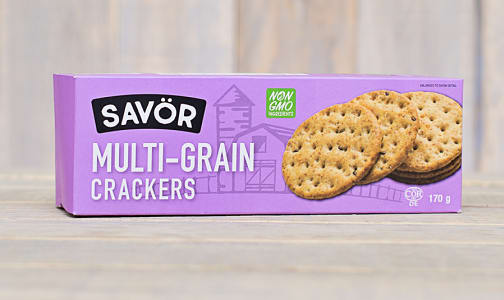 Multigrain Crackers- Code#: SN0216