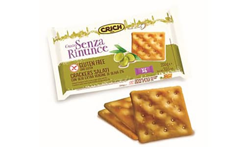 GF Salted Crackers w/ Extra Virgin Olive Oil- Code#: SN0226