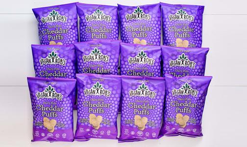Dairy Free Cheddar Puffs - CASE- Code#: SN0235-CS