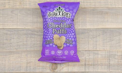 Dairy Free Cheddar Puffs- Code#: SN0235