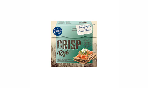Fazer Rye Crispbread- Code#: SN0281