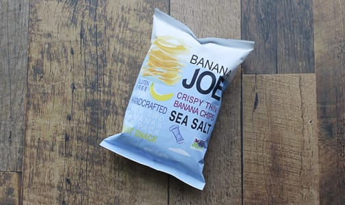 Sea Salt, Crispy thin Layer Banana Chips- Code#: SN0284