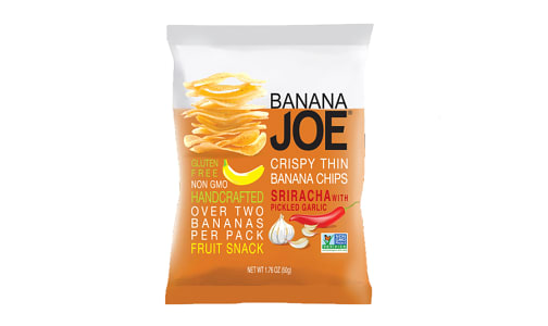 Siracha, Crispy Thin Banana Chips- Code#: SN0286