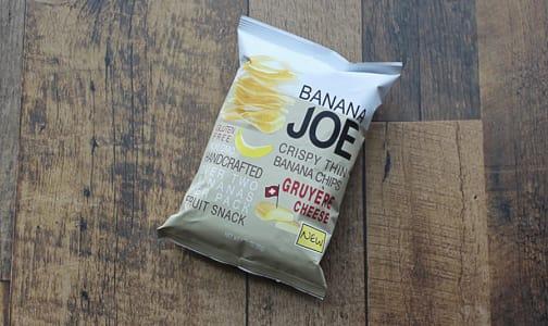 Gruyere, Crispy Thin Banana Chips- Code#: SN0287