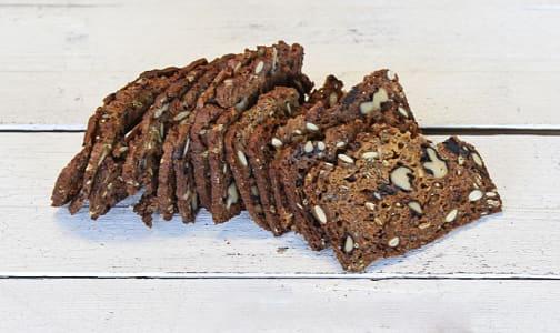 Savory Walnut & Roasted Shallot Crackers- Code#: SN0296
