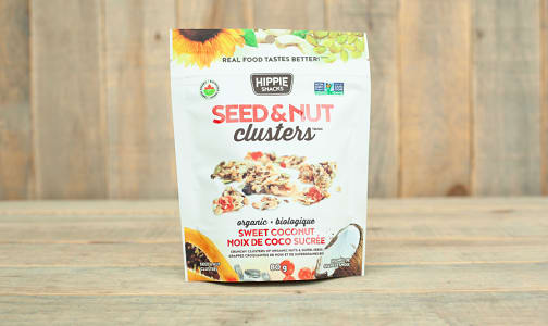 Organic Sweet Coconut Seed & Nut Clusters- Code#: SN0305