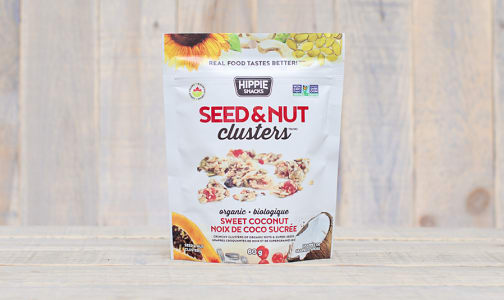 Organic Seed and Nut Clusters Sweet Coconut- Code#: SN0307