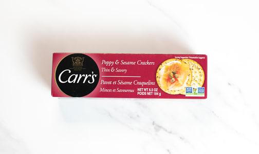 Crackers Poppy & Sesame- Code#: SN0324