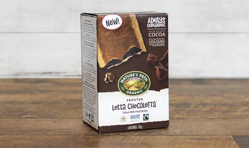 Organic Frosted Lotta Chocolotta Toaster Pastries- Code#: SN0334