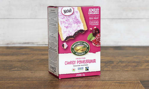 Organic Cherry Pomegranate Toaster Pastries- Code#: SN0336