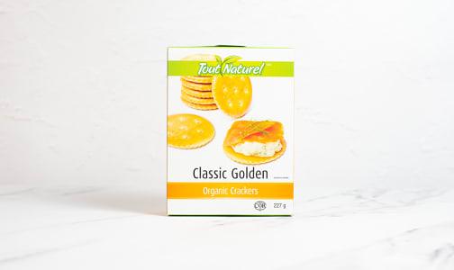 Organic Golden Crackers- Code#: SN0336